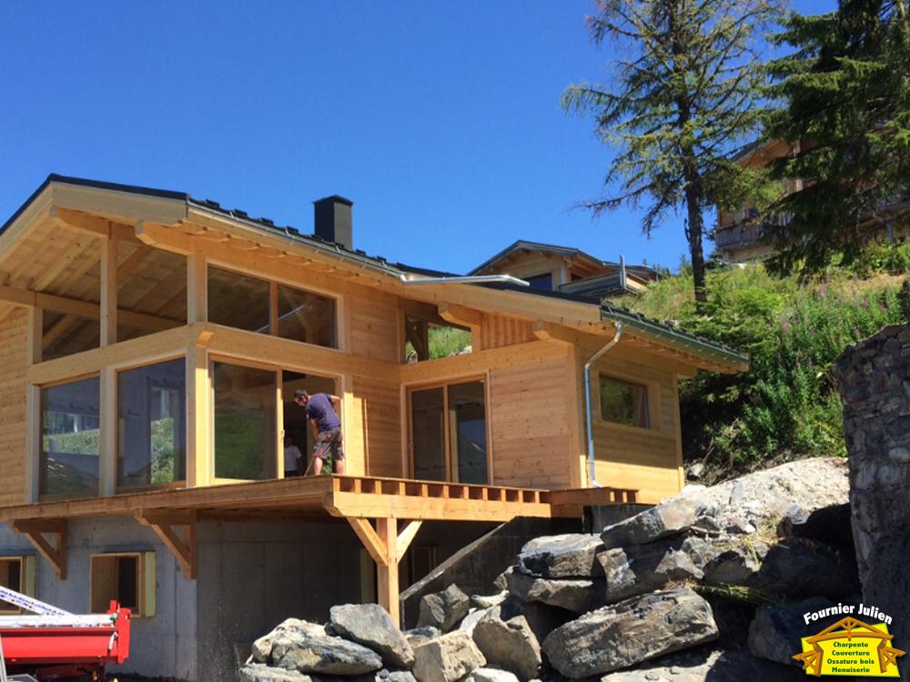 Julien Fournier charpente - Balcon et terrasse