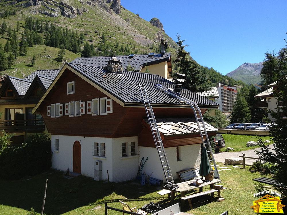 Julien Fournier charpente - Couverture maison