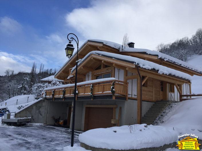 Julien Fournier - Charpentier traditionnelle à Bourg St Maurice en Savoie