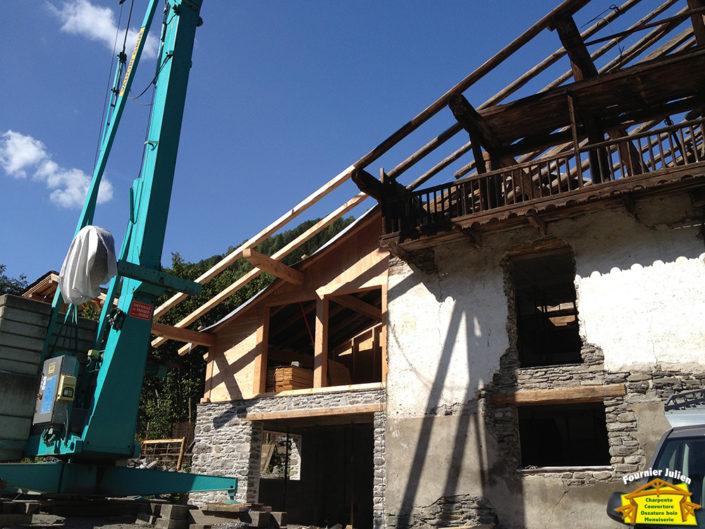 Réalisations d'extension de maison à Bourg St Maurice par Julien Fournier